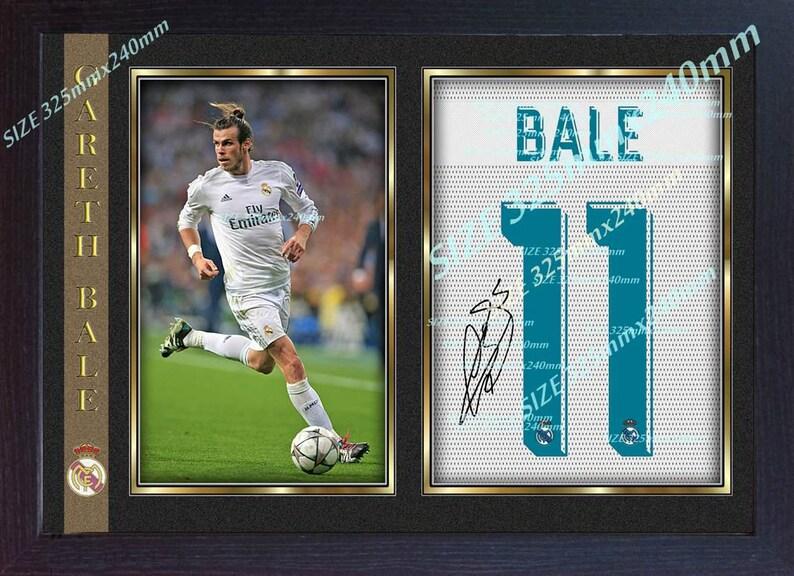 29950f99c54 Gareth Bale signed Autograph Football Memorabilia Framed photo
