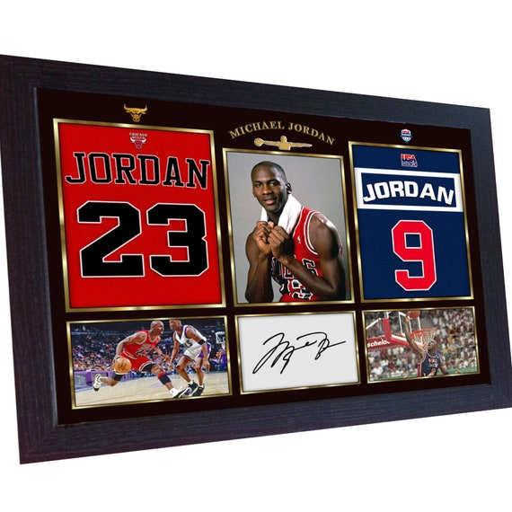 Michael Jordan NBA signed autograph Basketball Chicago Bulls  6d8e73ee5