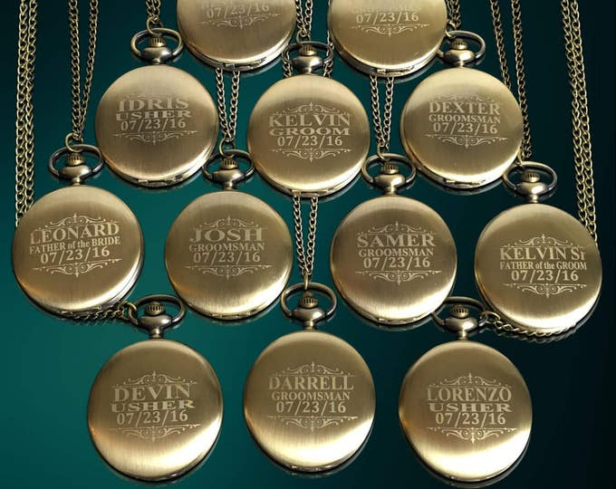 11 Personalized Men's gift - 11 Groomsman engraved gifts - Officiant gifts - Usher gift - Best Man - Men's Wedding - Personalized gifts