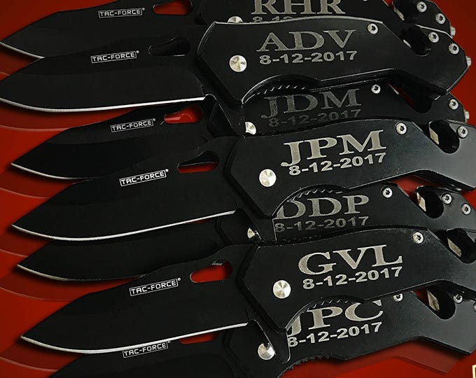 15 Groomsman Knifes - 15 Personalized engraved gifts - Gifts for her - Matron of honor & Maid of honor gifts - Bridesmaids gift - Bride gift