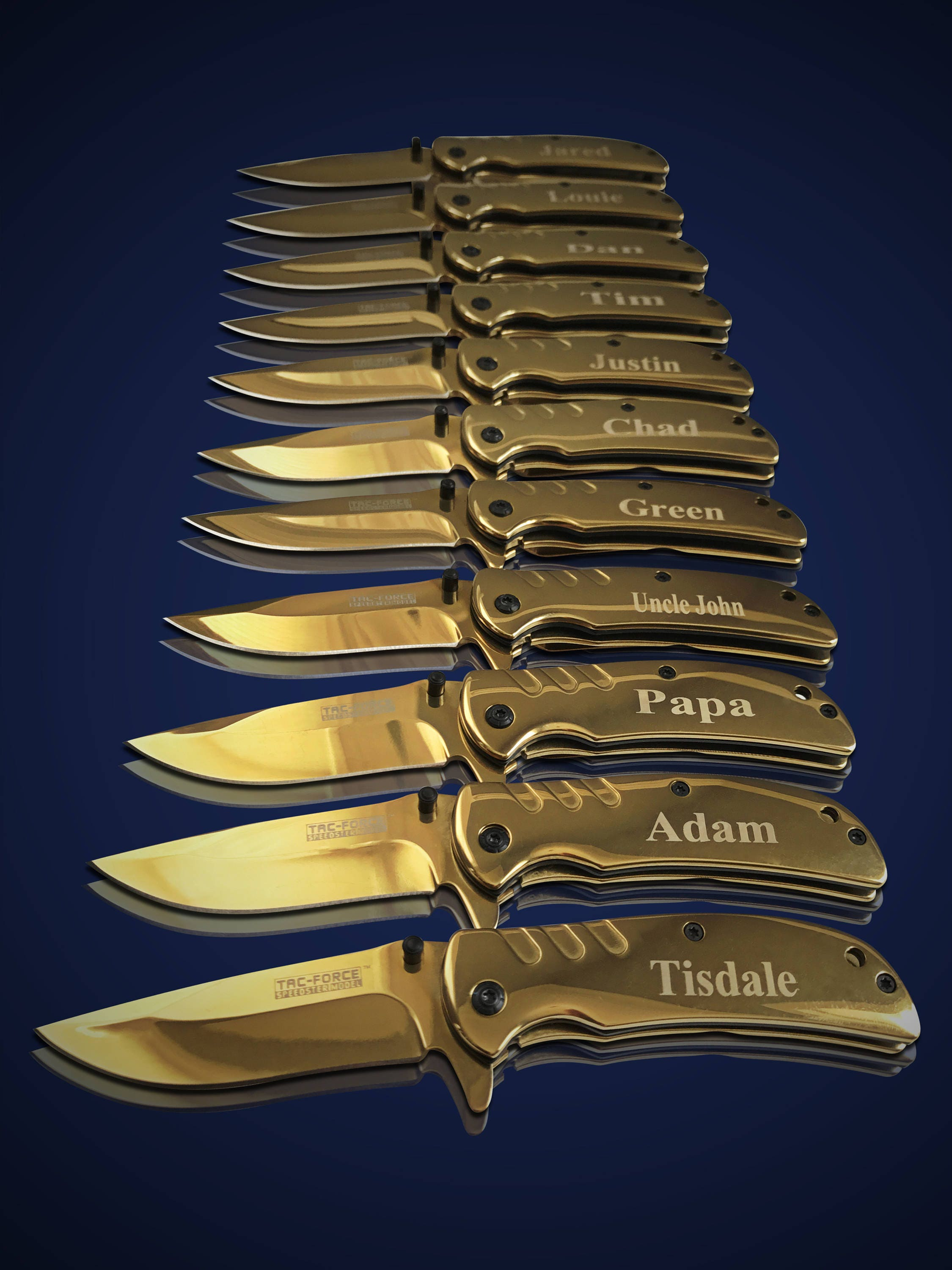 15 Personalized Knives 15 Groomsmen Gifts Officiant Gift Best