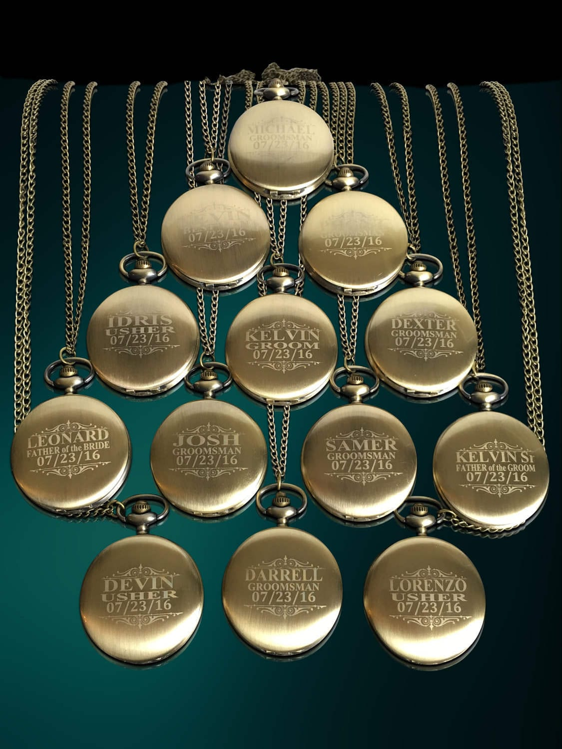 11 Personalized Mens Gift 11 Groomsman Engraved Gifts Officiant