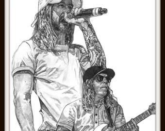 The Dirty Heads Canvas or Print Portrait