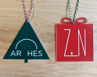 National Park ornaments - original illustrations, laser cut acrylic - incl. Grand Teton, Zion, Acadia, Yellowstone, Yosemite, Joshua Tree