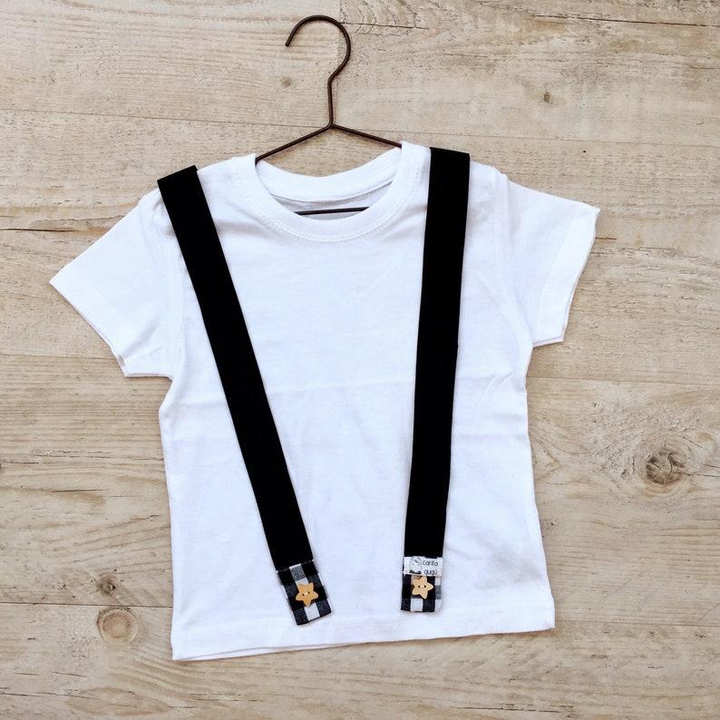 3bace29bb Camiseta tirantes bebé camiseta blanca bebé.