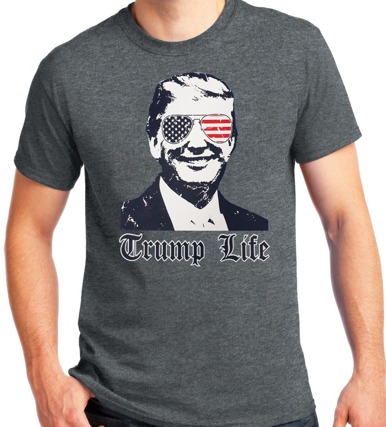 6118260c PubliciTeeZ Big and Tall King Size Funny Trump Life T-Shirt