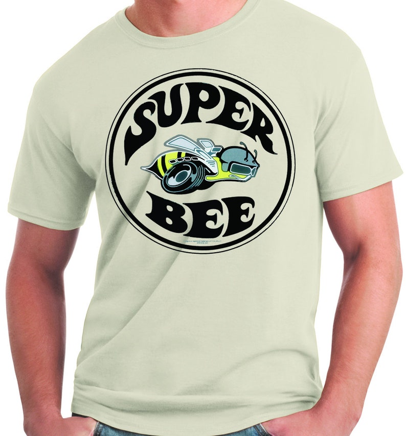 c58b81c4 PubliciTeeZ Big and Tall Licensed Dodge Super Bee Logo T-Shirt