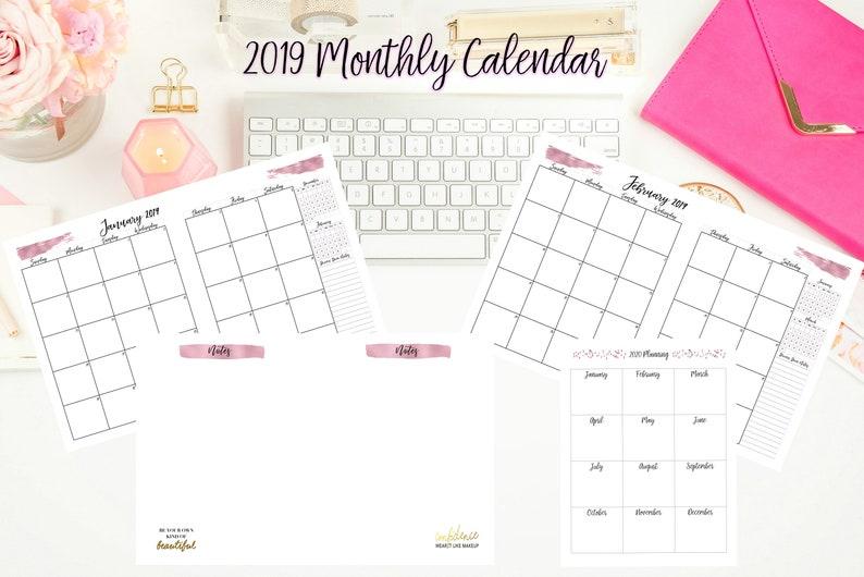 Christmas 2019 Calendar.2019 Calendar 2019 Entrepreneur Planner 2019 Organize Christmas Gifts Mom 2019 Agenda