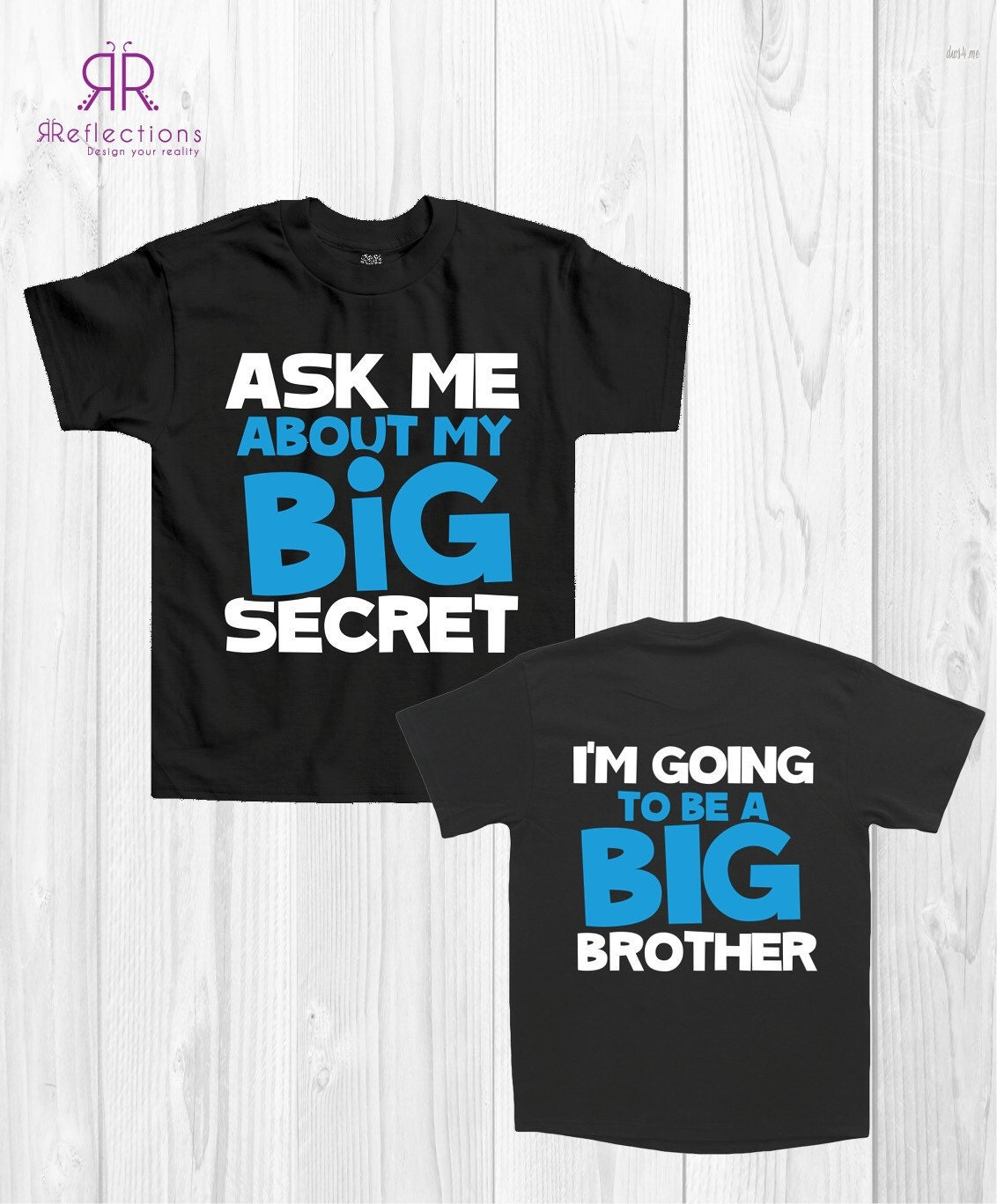 Children's announcement t-shirt Big Brother T-shirt   Etsy
