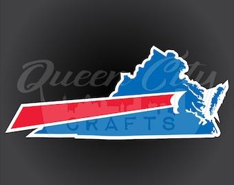 Buffalo Backers Virginia Sticker Decal