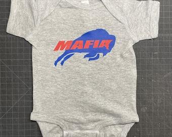 Buffalo Mafia Infant Baby Bodysuit