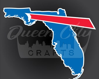 Buffalo Backers Florida Sticker Decal