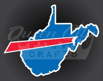 Buffalo Backers West Virginia Sticker Decal