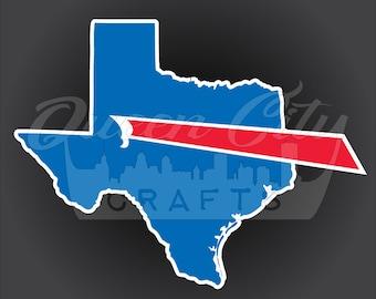 Buffalo Backers Texas Sticker Decal