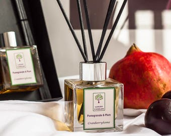 Pomegranate & Plum Luxury Reed Diffuser