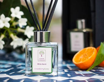 White Neroli Luxury Reed Diffuser