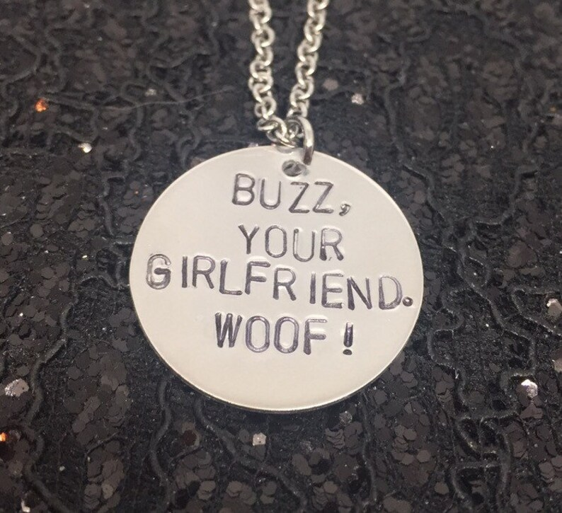 Home Alone Necklace Hand Stamped Metal Jewelry