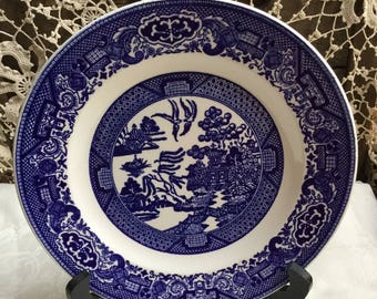 Willow Ware Royal China, USA / 10 inch Dinner Plate