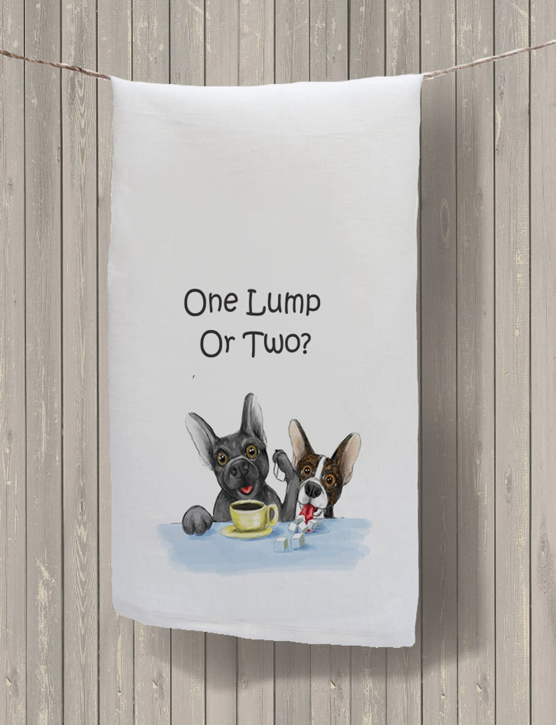Dog Lover Kitchen Towels, funny dog towel, Kitchen decor, dog decor, french  bulldog decor, boston terrier design, dog lover gift, MCHSD