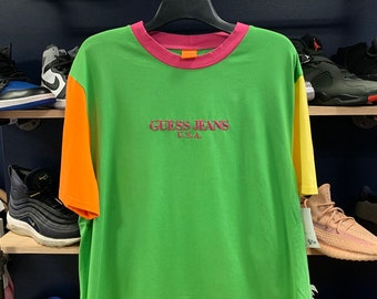47568406 Guess Jeans USA farmers market color blocked t-shirt