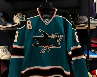 Vintage Reebok San Jose Sharks jersey 985890281