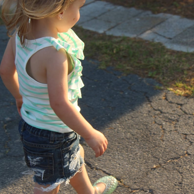 GIRLS SHORTIE cut off shorts distressed baby girls shorts jean shorts distressed jeans toddler girl big girl ripped jeans rEADY To Ship