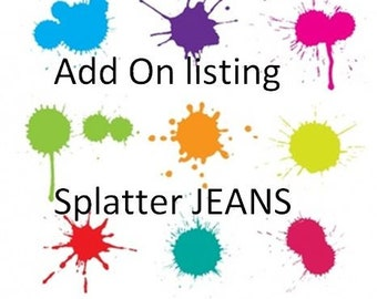 Add On Full Length option for splatter
