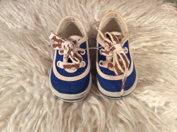 Vintage Monchichi infant Keds Size 1