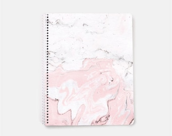 pink notebook etsy