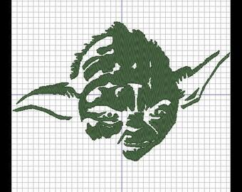 Embroidery design - YODA 2 (STAR WARS)