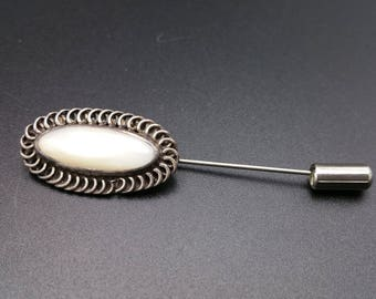 Navajo Stick Pin Native American Sterling Silver Southwest Gift
