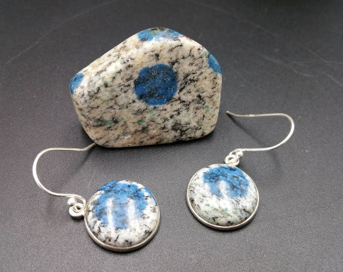 K2 Granite Earrings Mineral Specimen Mount Everest Mountain Climbing Unique Gift