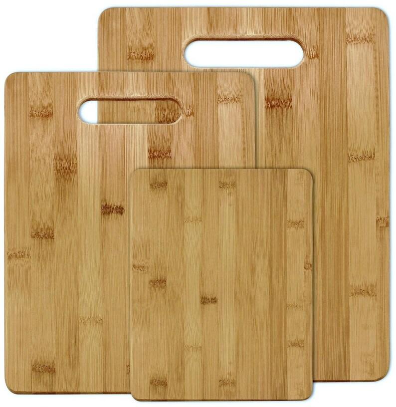 Unique Personalized Bamboo Cutting Board