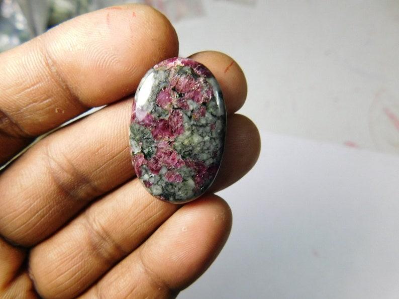 R-466 Beautiful 100/% Natural Eudialyte Cabochon,Glorious Eudialyte gemstone,Eudialyte loose stone for jewelry Semi Precious Gemstone 45 Cts