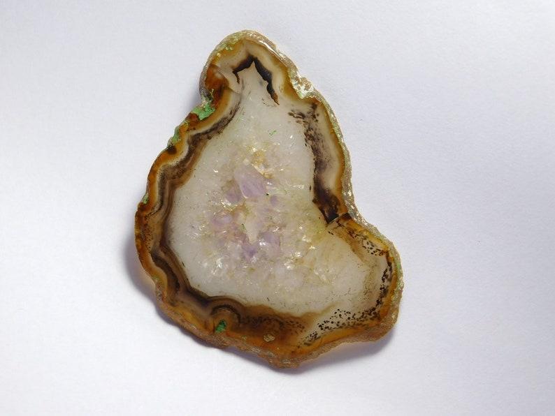 R-6661 Top Rare- Montana agate loose gemstone 94 Cts Montana agate Slice gemstone Wholesale Price Natural Montana agate cabochon Gemstone