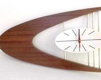mid century modern clock Mid century modern clock | Etsy mid century modern clock