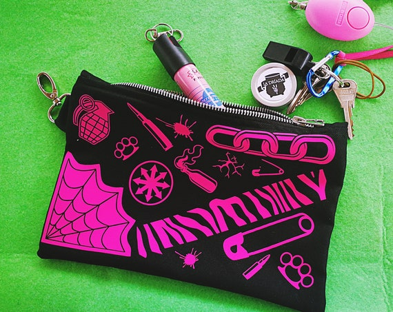 """Necessary """"RiotPassion"""" Fabric own design and handcrafted stamping. Color to choose."""