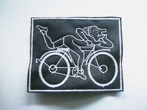 Embroidered Patch 10cm Albert Hoffman