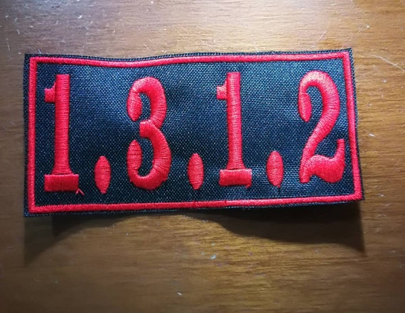 Thread color to choose. Embroidered Patch Size 10x4 cm