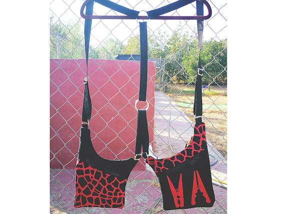 Giraffe Printed Pistol Carboxes. Color to choose. Holster Bags 2 Pockets