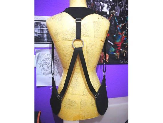 Holsters/Riñoneras/Holsterbag Black basic 2 pockets man woman cartridge strips