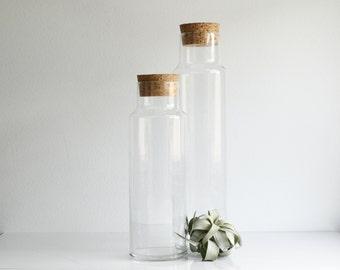 Large Glass Bottle Etsy