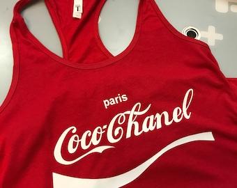 Coco Chanel Tank Top