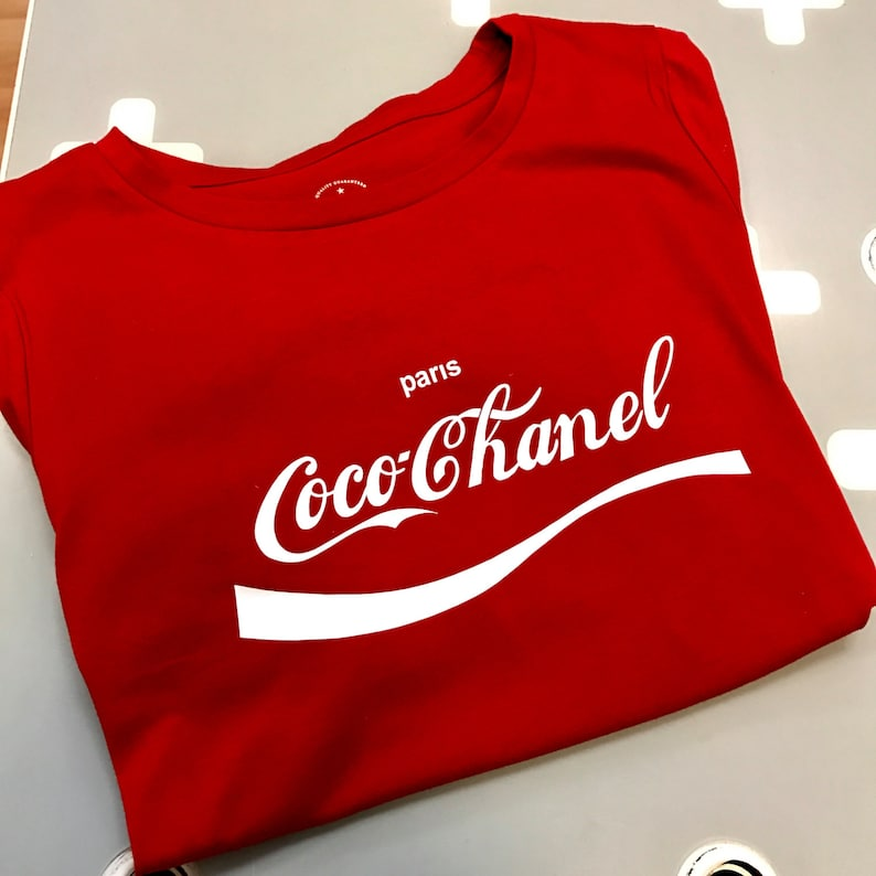 new product 8a5e8 8d0c2 Coco Chanel T-shirt