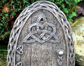 Large Irish Celtic Fairy Door  Indoor/ Out  Invite the fairies to your home or garden.