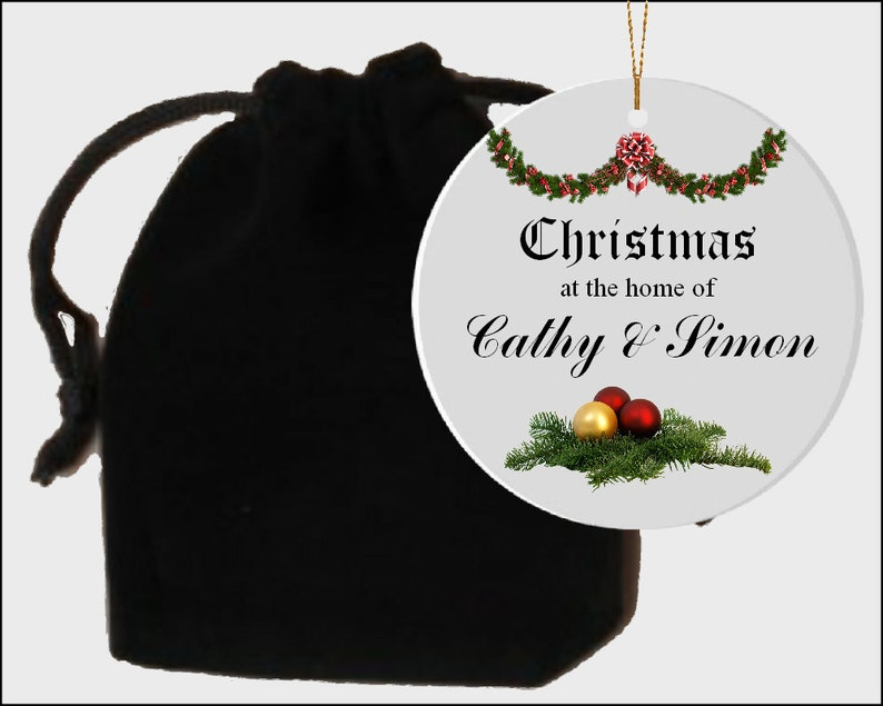 Tree ornament Ceramic ornament Christmas decoration Tree decoration Ceramic gift Hanging orament