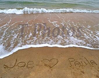 Your Name on the Beach - Sand writings 421d0f7b21b