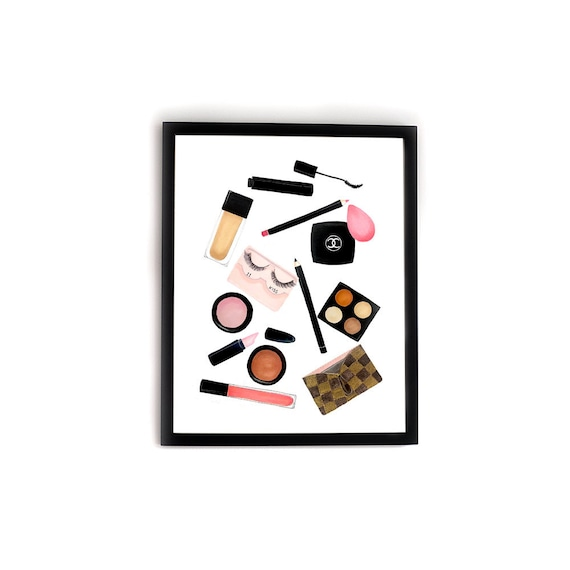 Date Night Grwm Makeup Illustration Print Vanity Beauty Etsy So it was my first date. etsy