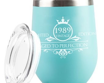 1989 30th Birthday Gifts For Women Men Tumbler