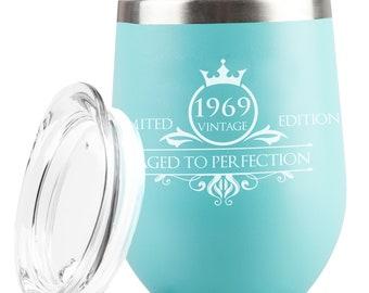 1969 50th Birthday Gifts For Women Men Tumbler